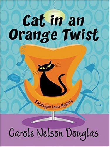 Download Cat in an orange twist