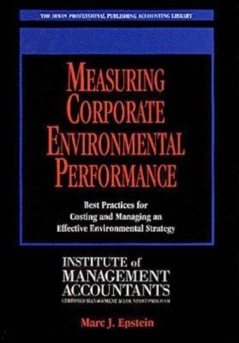 Download Measuring Corporate Environmental Performance