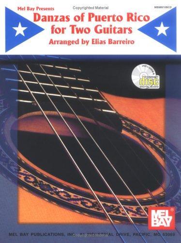 Mel Bay Danzas of Puerto Rico for Two Guitars