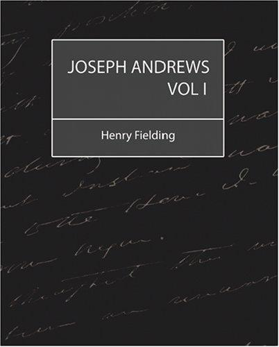 Download Joseph Andrews Vol 1