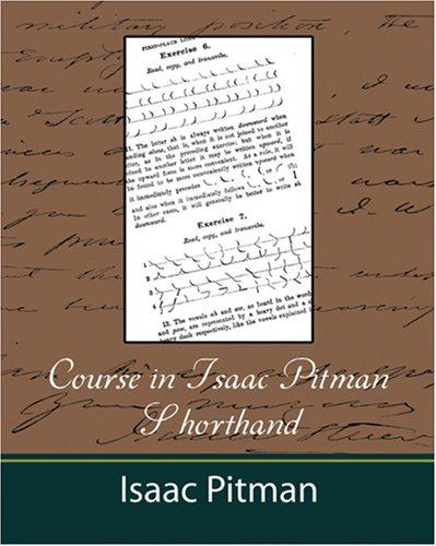 Download Course in Isaac Pitman Shorthand