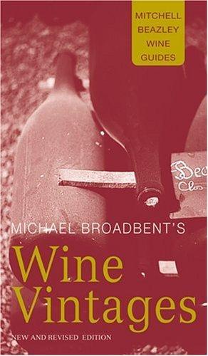 Michael Broadbent's wine vintages.