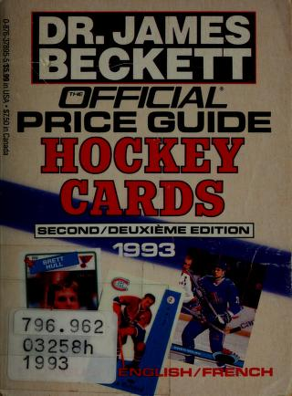 Cover of: Hockey Cards | James Beckett