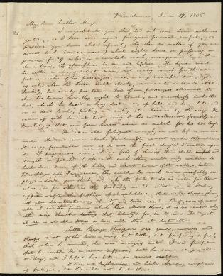 [Letter to] My dear brother May by William Lloyd Garrison