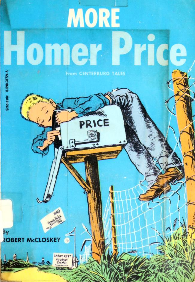 More Adventures of Homer Price by Robert McCloskey