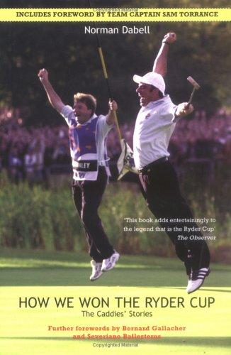 How We Won the Ryder Cup
