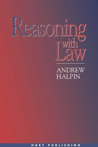Reasoning With Law by Andrew Halpin