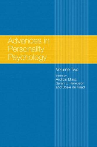 Advances in personality psychology by
